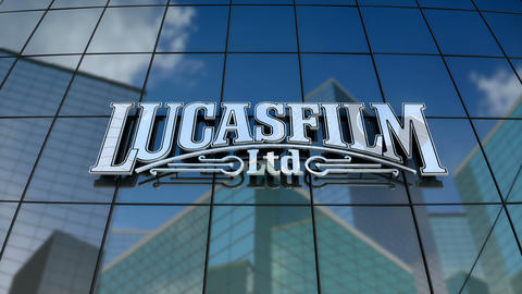 Editorial, Lucasfilm Ltd. LLC logo on glass building Animation