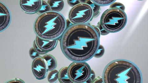 Electroneum coin, Digital currency animation Animation