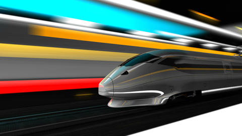 Animation High speed rail Animation