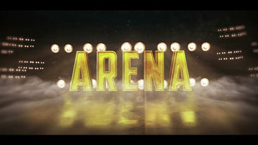 Sports Arena Logo After Effects Template