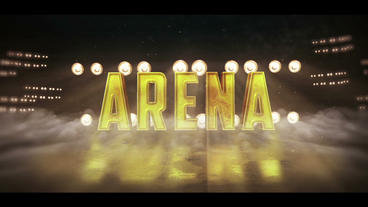 Sports Arena Logo Plantilla de After Effects