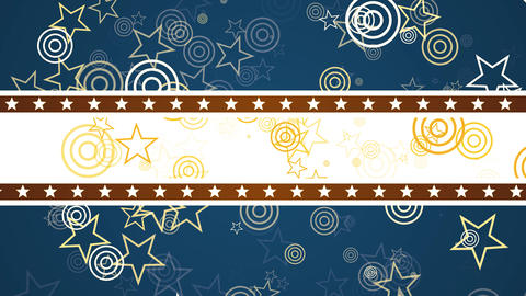 Patriotic Stars and Shapes Animation