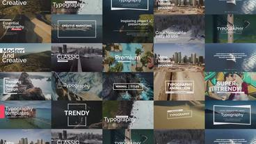 Essential Titles After Effects Template