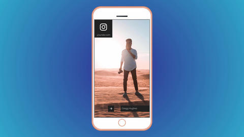 Instagram Stories Scenes Motion Graphics Template