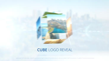 Cube Logo Reveal – After Effects Template After Effects Template