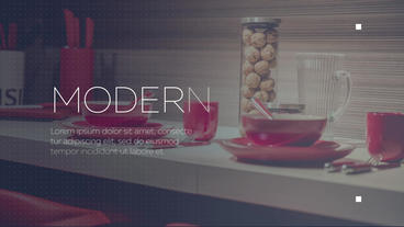 Simple Modern Slideshow After Effects Template