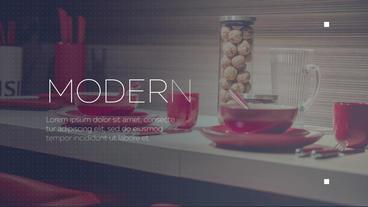 Simple Modern Slideshow 애프터 이펙트 템플릿