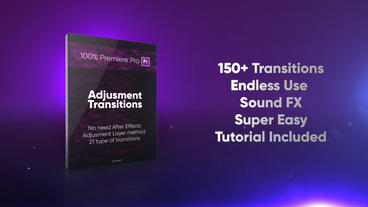 Adjusment Transitions Premiere Pro Template