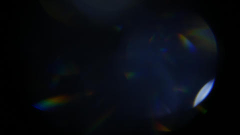 Multicollor light leaks for using in video composing. Flashing light for footage Footage