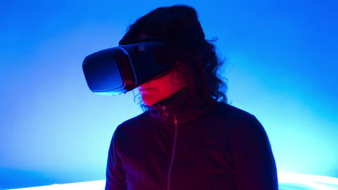 Virtual Reality cyberspace Live Action