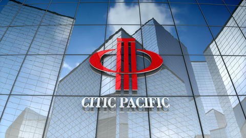 Editorial, Citic Pacific logo on glass building Animation