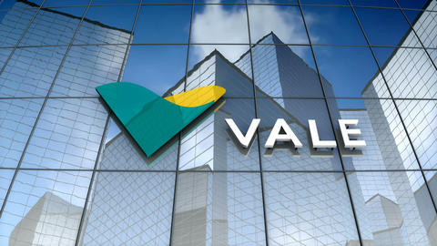 Editorial, Vale SA logo on glass building Animation