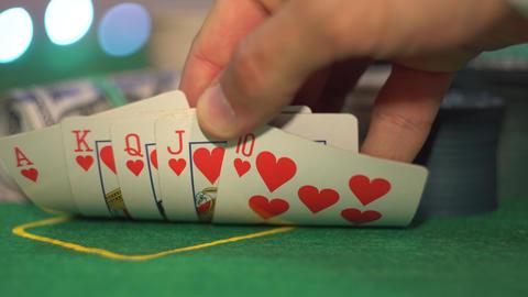 Royal Flush, Poker Cards Live Action