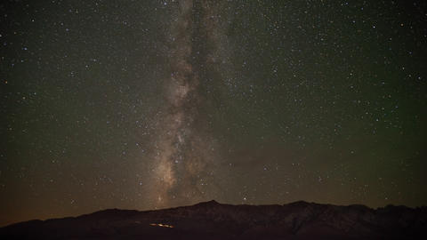 Time Lapse Of The Milky Way Live Action