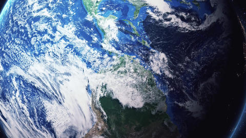Earth Zoom In Zoom Out Bogota Colombia Footage