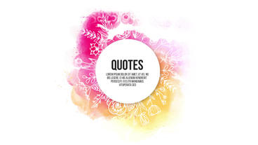 Quotes Titles Premiere Pro Template
