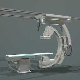 Siemens Healthcare Artis Q Ceiling scanner 3D Model