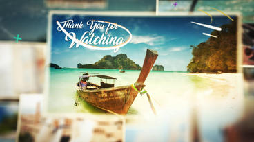 Travel Memories Slideshow Plantilla de After Effects