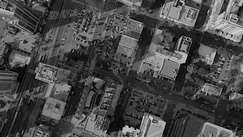 [alt video] City aerial view usa skyscrapers