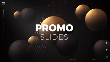 Spheres Product Promo 4K After Effects Template