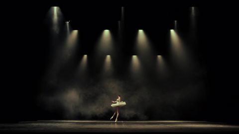 Ballet dancing woman elegance Footage