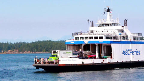 Ferry ship boat transport Footage