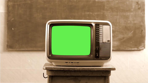SEPIA GREEN SCREEN TELEVISION COLLECTION 0