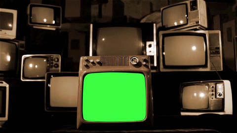 SEPIA GREEN SCREEN TELEVISION COLLECTION 1