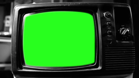 GREEN SCREEN TV BLACK AND WHITE TONE COLLECTION 0