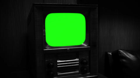 GREEN SCREEN TV BLACK AND WHITE TONE COLLECTION 1