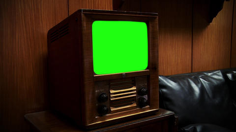 OLD GREEN SCREEN TV COLLECTION