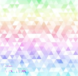 modern white abstract background with triangles ベクター