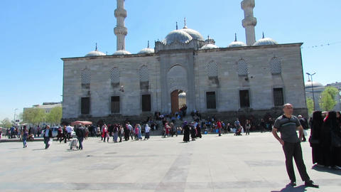 Eminonu mosque Footage