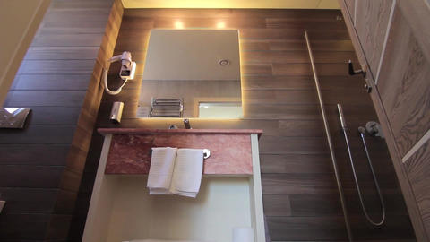 Bathroom in a luxury home 79 Footage