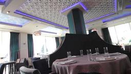 Luxury restaurant on the ground floor office building 44 Footage
