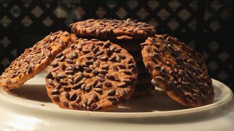 Cookies rotate 2 Footage