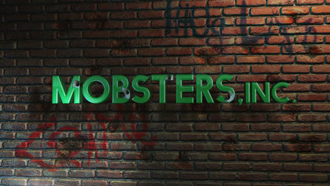 Mobsters, INC. - Mafia Style Drive By Shooting Logo Stinger Plantilla de After Effects