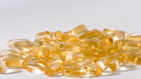 Cod liver oil pills supplement Footage