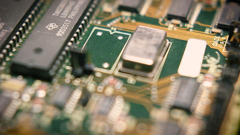 Circuit Board Tech Loop 06 Footage