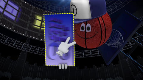 Animated Basketball Character After Effects Template