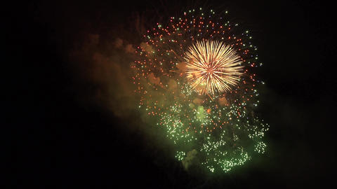 4K Fireworks Festival Kyoto Japan 亀岡平和祭花火大会 ライブ動画