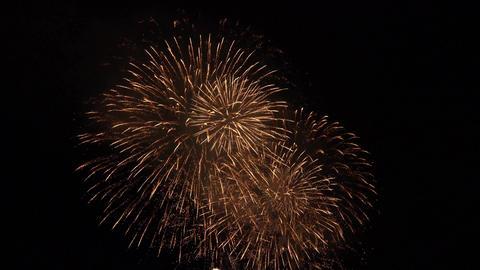 4K Fireworks Festival Kyoto Japan 亀岡平和祭花火大会 Footage