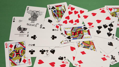 Playing Cards Footage