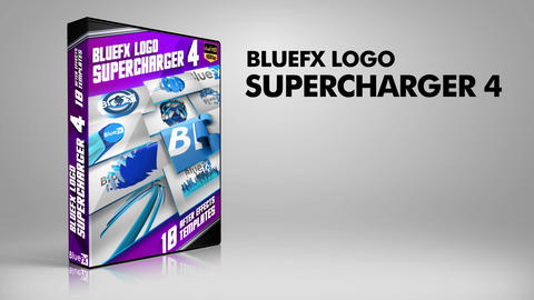 Logo Supercharger 4 After Effects Template