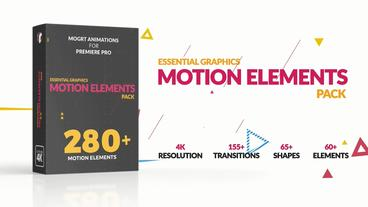 Motion Elements Pack Motion Graphics Template