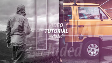 Light Slideshow After Effects Templates