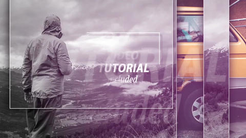 Light Slideshow After Effects Template