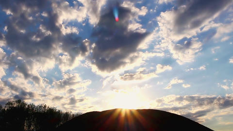 Sunce iza brda YT Footage