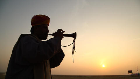 Musician with Music instrument Live Action