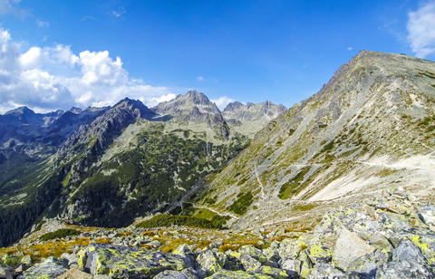 Picturesque summer view of High Tatras mountains, Slovakia フォト
